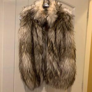 Boutique Faux Fur Vest